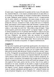 Divina Maternità della B.V. Maria lc 1,26-38a - San Pier Giuliano ...