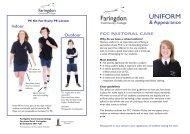 UNIFORM - Faringdon Community College