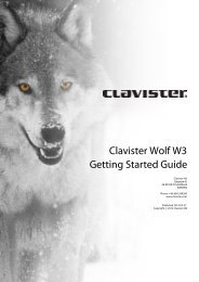 Clavister Wolf W3 Getting Started Guide