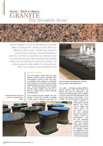 Granite - Infotile