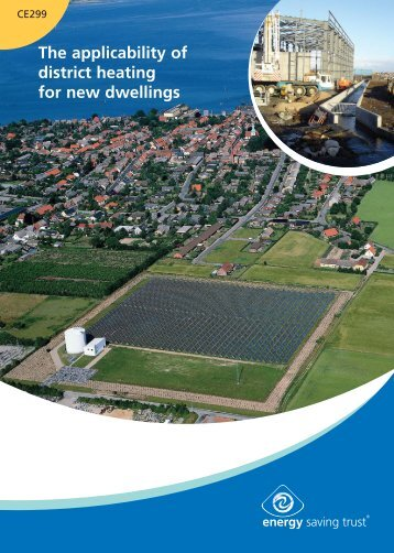 The applicability of district heating for new dwellings