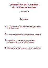 Commission des Comptes de la Sécurité Sociale - UNPF