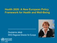 ADG Retreat 08-10-2010 - World Health Summit