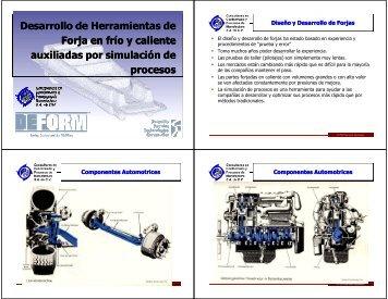 Diseño de Herramientas de Forja en Frio y Caliente Auxiliados por ...