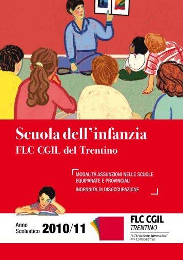 Guida per gli insegnanti della scuola dell'infanzia - CGIL del Trentino