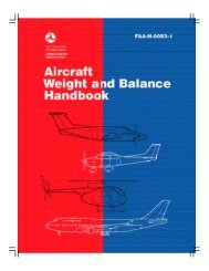 FAA-H-8083-1, Aircraft Weight and Balance Handbook