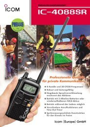 IC-F4029SDR Prospekt