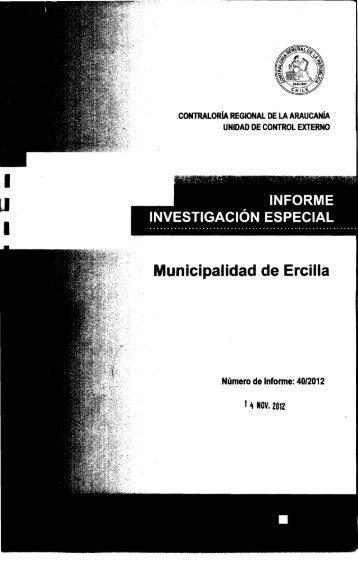 Municipalidad de Ercilla