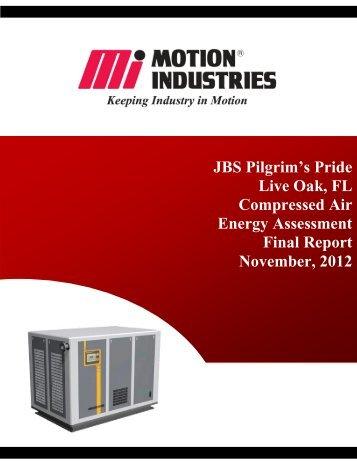 JBS - Live Oak, FL Compressed Air Final Report - Motion Industries