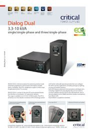 Win Dialog Plus - Riello UPS