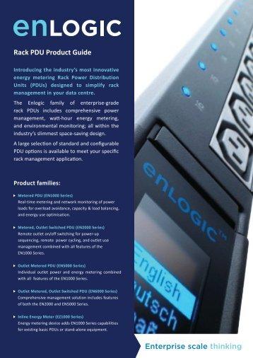 Rack PDU Product Guide - Critical Power Supplies