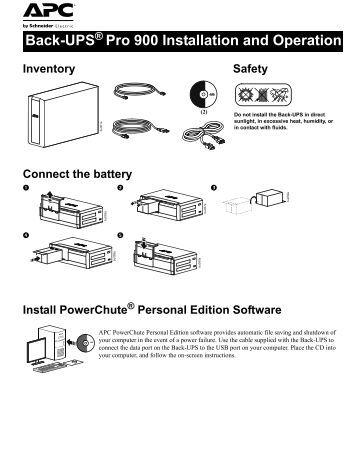 apc xs 1300 user manual