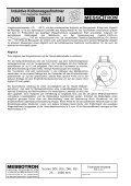 radialer Kabelanschluß radialer Steckeranschluß Serie DOI 25 ... - Seite 4
