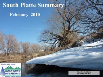 February - Colorado Division of Water Resources
