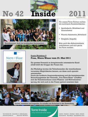 No 42 Inside 2011 - Torre Schweiz AG