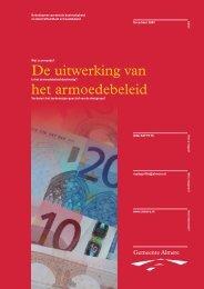 De uitwerking van het armoedebeleid - Gemeenteraad Almere