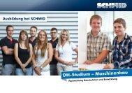 DH-Studium – Maschinenbau Ausbildung bei ... - SCHMID Group