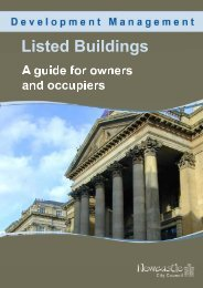 Listed buildings: a guide for owners and occupiers - Newcastle City ...