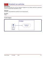 UC6.1 Verwissel van werkview