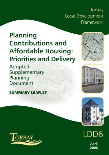 Planning Contributions and Affordable Housing ... - Torbay Council