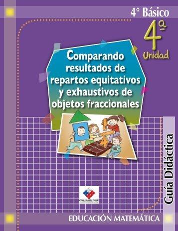 4° Básico - Clases Particulares de Matemáticas