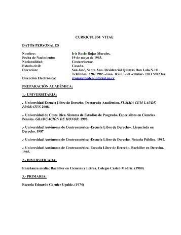 CURRICULUM VITAE DATOS PERSONALES Nombre - El Financiero