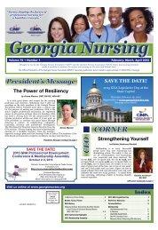 Georgia Nursing - February 2015