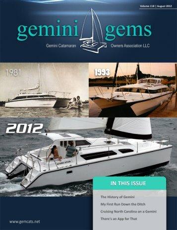 August 2012 - Gemini Gems