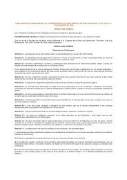 publicado en el diario oficial de la federación en cuatro partes los ...