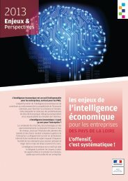 les enjeux de l'intelligence économique - Direccte