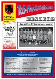 Fax 0 21 61/3 54 55 22 E-Mail: info ... - TuS Grevenbroich