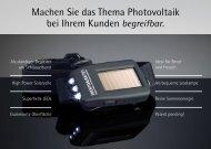 Machen Sie das Thema Photovoltaik bei Ihrem ... - Wertobjekte