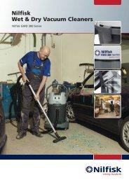 Nilfisk Wet & Dry Vacuum Cleaners