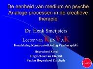 Analogie in de creatieve therapie - KenVaK - Zuyd