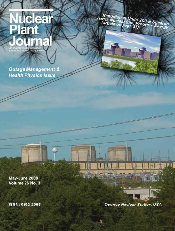 Nuclear Plant Journal, May-June 2008