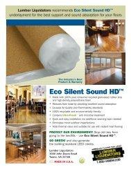 Eco Silent Sound HD™ - Lumber Liquidators