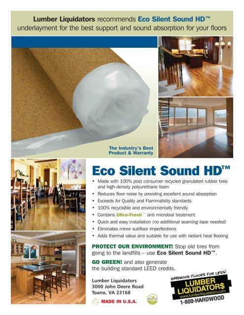 Eco Silent Sound Hd Lumber Liquidators