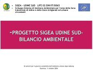 Scarica la presentazione (223Kb) - Agenda 21 Locale del Comune ...