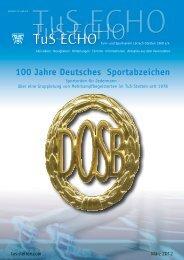 100 Jahre Deutsches Sportabzeichen - beim TuS Lörrach-Stetten