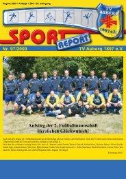 Nr. 97/2009 TV Asberg 1897 e.V. Aufstieg der 2. Fußballmannschaft ...
