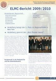 geht es zum ausführlichen Bericht über den Wettbewerb 2009/2010