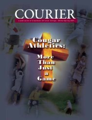 2007 Winter/Spring Courier - Clearwater Christian College