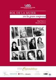 ROL DE LA MUJER - Facultad de Economía y Negocios UDD