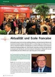 Aktualität und Ecole Francaise - brot+backwaren