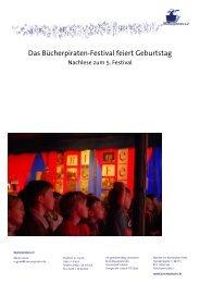 Nachlese 5. Bücherpiraten-Festival