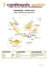 INDONESIE - IRIAN JAYA - Continents Insolites