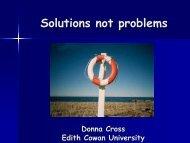 Cross, D. Solutions not problems.pdf