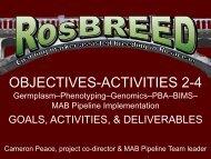 Genomics - RosBREED