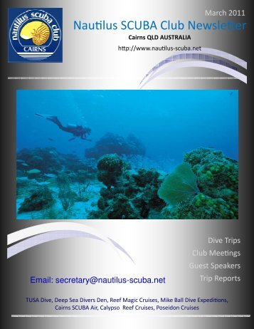 March 2011 - Nautilus Scuba Club Cairns