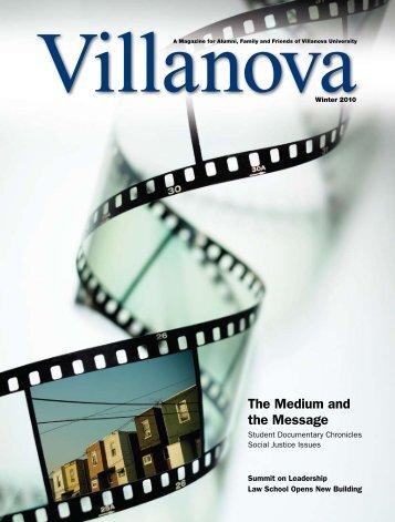 The Medium and the Message - Villanova University